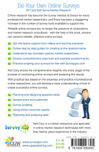 Do Your Own Online Surveys by Neil Cary